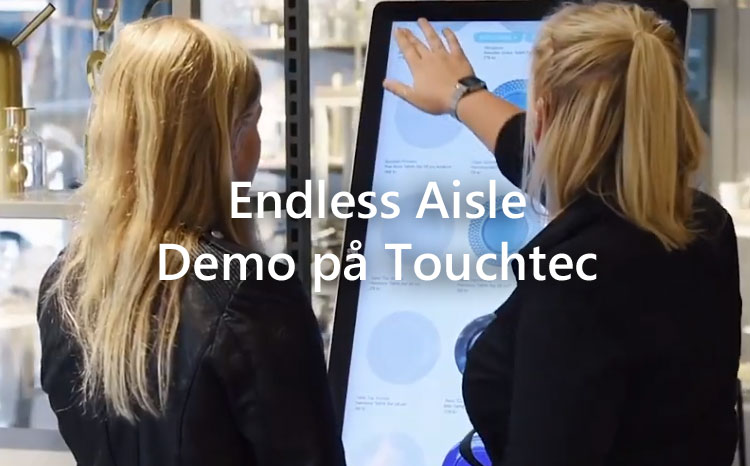Endless Aisle og demo på Touchtec